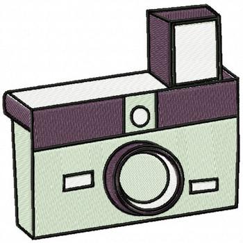 Flash Camera - Photography #08 Machine Embroidery Design