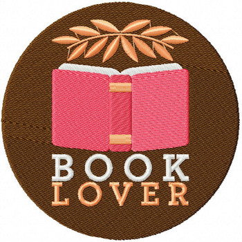 Poetry Book - Book Lover #02 Machine Embroidery Design