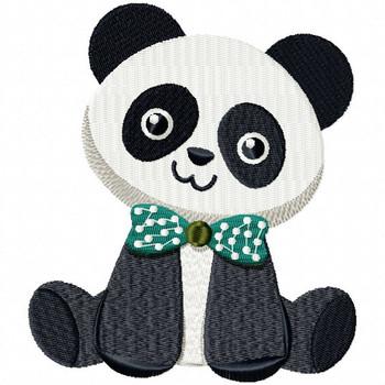 Stuffed Panda - Stuffed Toy #04 Machine Embroidery Design