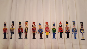 Christmas Toy Soldier #01 Machine Embroidery Design