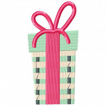 Chic Gift - Christmas Gift #04 Machine Embroidery Design