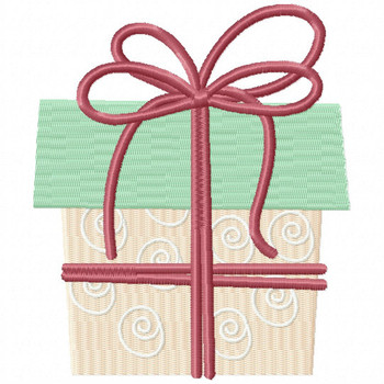 Dainty Gift - Christmas Gift #05 Machine Embroidery Design