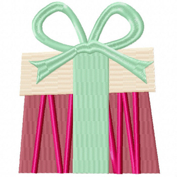 Sweet Gift - Christmas Gift #07 Machine Embroidery Design