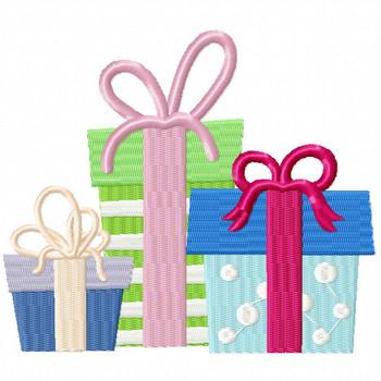 Bundle Gift - Christmas Gift #09 Machine Embroidery Design