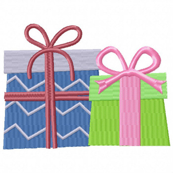 Couple Gift - Christmas Gift #10 Machine Embroidery Design