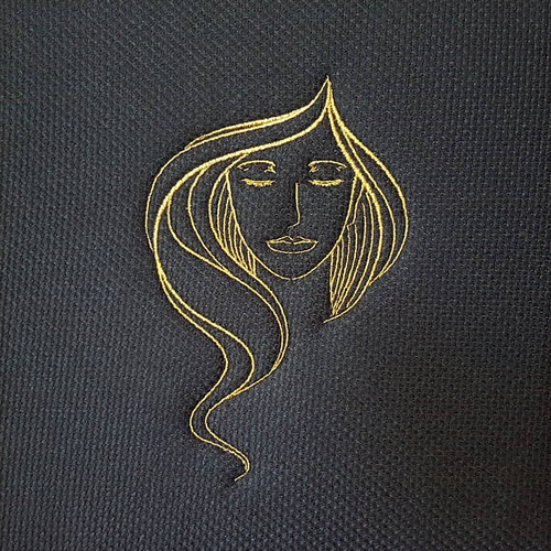 Eyeshadow Modern Ladies #5 Machine Embroidery Designs