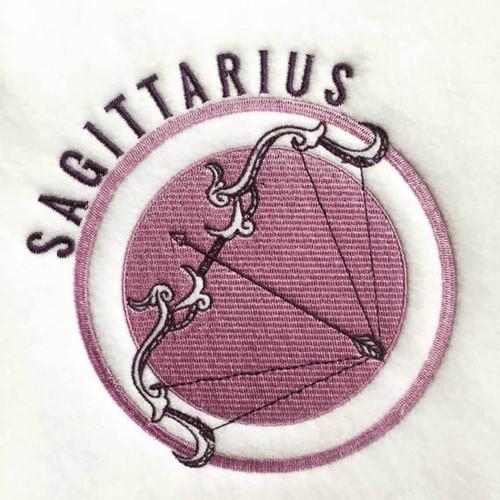 Sagittarius - Zodiac Collection #06 Machine Embroidery Design