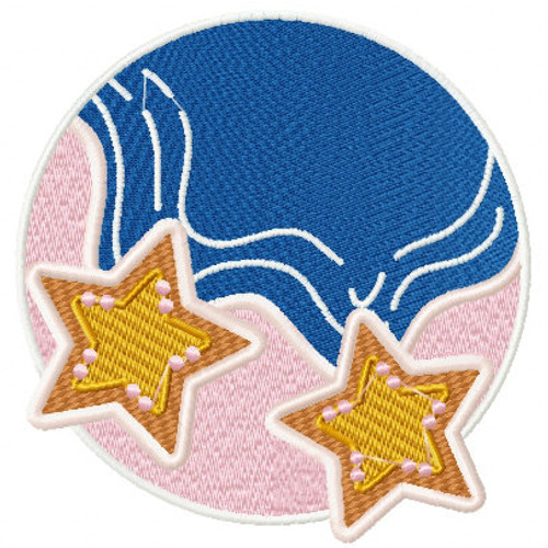 Starfish - Summer Beach Collection #03 Machine Embroidery Design