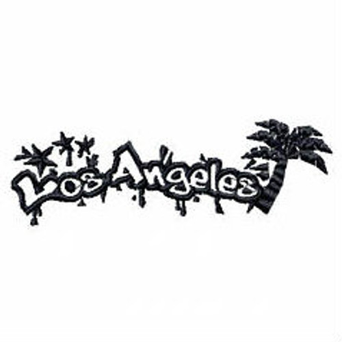 Los Angeles Mono - Geography Graffiti Collection #03 Machine Embroidery Design