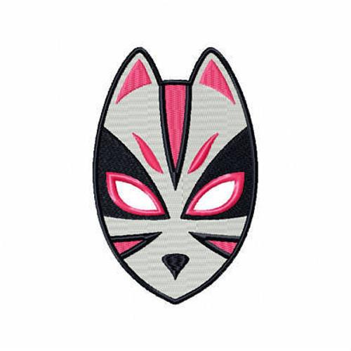 Cat Mask - Masquerade Design Collection #05 Machine Embroidery Design
