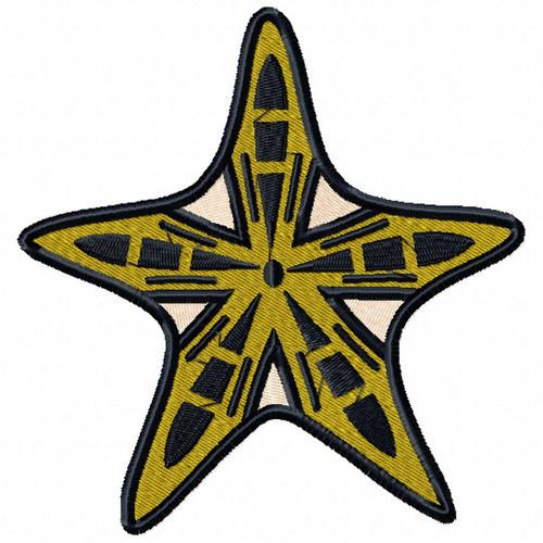 Starfish #05 Machine Embroidery Design