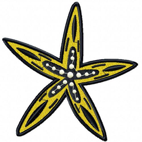 Starfish #11 Machine Embroidery Design
