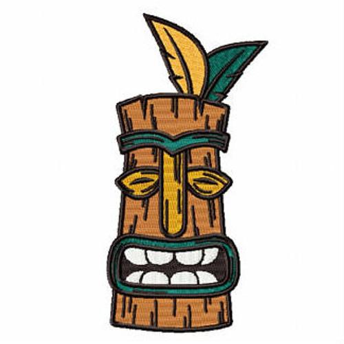 Luau Masks #01 Machine Embroidery Design