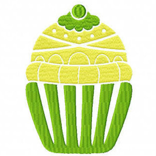 Cupcake #02 Machine Embroidery Designs