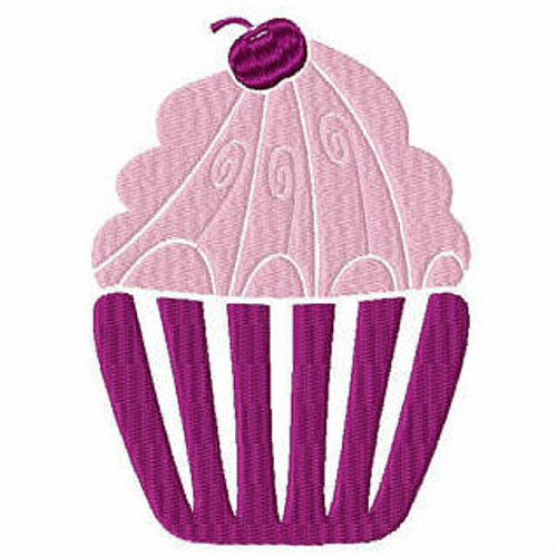 Cupcake #03 Machine Embroidery Designs