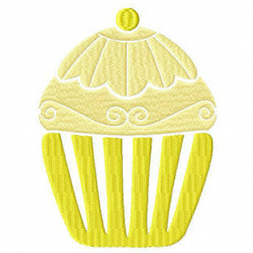 Cupcake #04 Machine Embroidery Designs