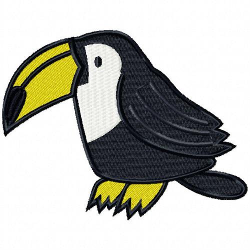 Toucan - Safari Animals #11 Machine Embroidery Design