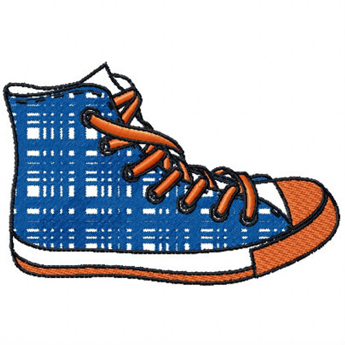 High Cut - Shoe Collection #07 Machine Embroidery Design
