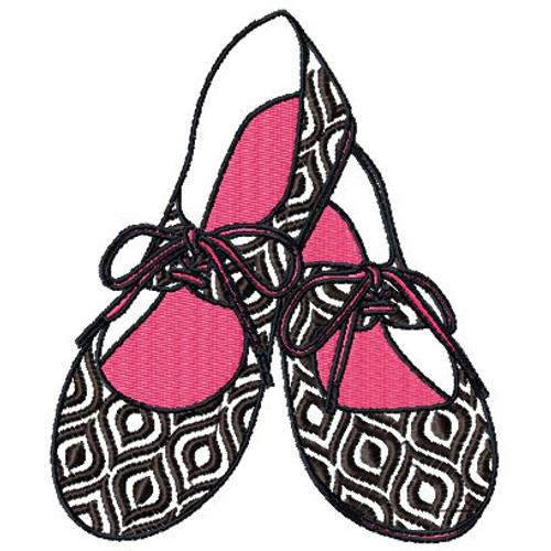 Doll Shoes - Shoe Collection #12 Machine Embroidery Design