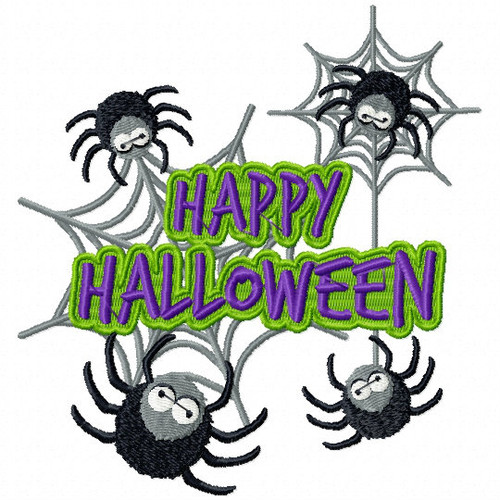 Spider Eyes #04 Spooky Collection Machine Embroidery Design