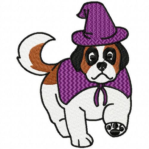 St. Bernard Collection #06 Machine Embroidery Design
