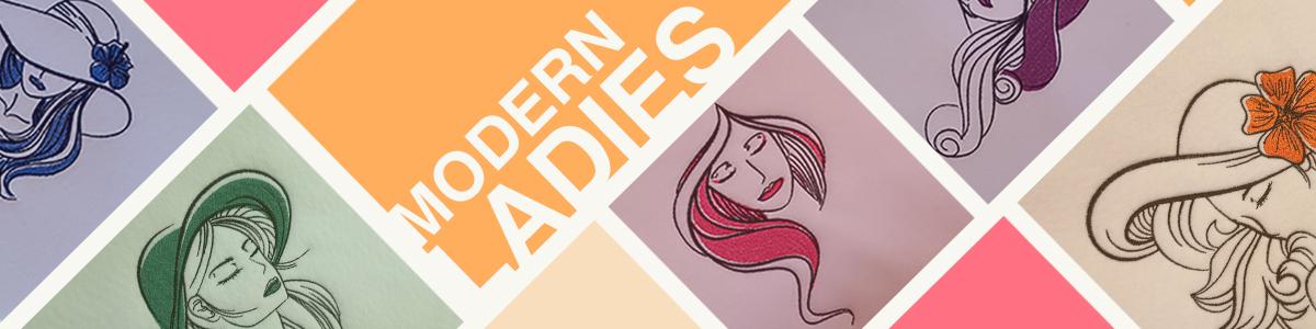 Modern Ladies - 6 Twin packs (twelve designs) for $10