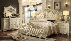 Louis Phillipe Queen Bed Set of 5