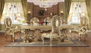 Golden Palace Dining Set of 9