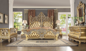 Golden Palace 5 pc EK Bedroom Set (KIT)