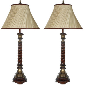 Baltmore Pillar Lamp Set of 2