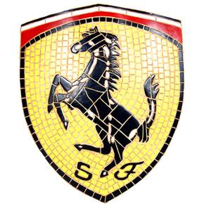 FR- Mosaic Car Sign