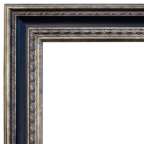 Elegantly Grand Frame 48X60 Gold Silver Black