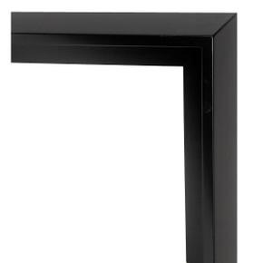 Modern Float Frame 36X36 Black