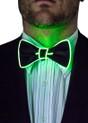 Green EL Wire Light Up Bow Tie