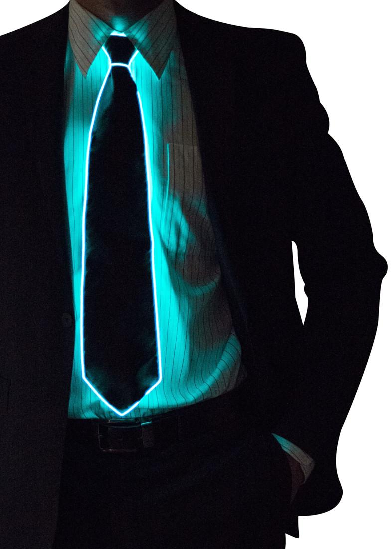 Light Up Neck Tie Neon Nightlife