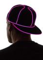 Pink Light Up Snapback Baseball Hat