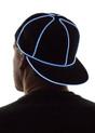 White Light Up Snapback Baseball Hat