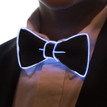 White light up bowtie for kids