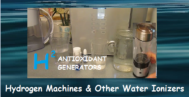 Water Ionizers Molecular Hydrogen Generators And Water