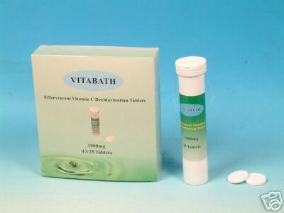 VitaBath Vitamin C Dechlorination Tablets - Alkaline Water Plus