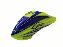 SAB Goblin 380 Canopy - Yellow/Blue H0544-S