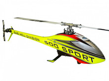SAB Goblin 500 Sport Helicopter Yellow/Red Kit SG508