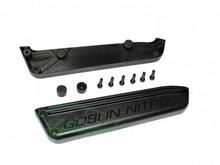 SAB Plastic Fuel Tank Support Black - Goblin Black Nitro H0686