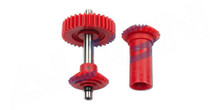 H60G002AX M0.8 Torque Tube Front Drive Gear Set/34T
