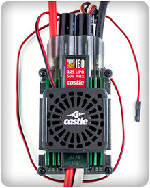 Castle Creations Phoenix Edge 160HVF 50V 160-Amp ESC w/Fan
