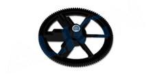 HS1220AA 450 Autorotation tail drive gear-Black