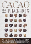 Cacao Collection Milk & Dark 25 Piece Box