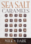 Sea Salt Caramel  Milk & Dark 25 Piece Box