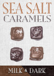 Sea Salt Caramel Milk & Dark 4 Piece Box