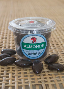 Dark Chocolate Premium Almonds Packaged Medium